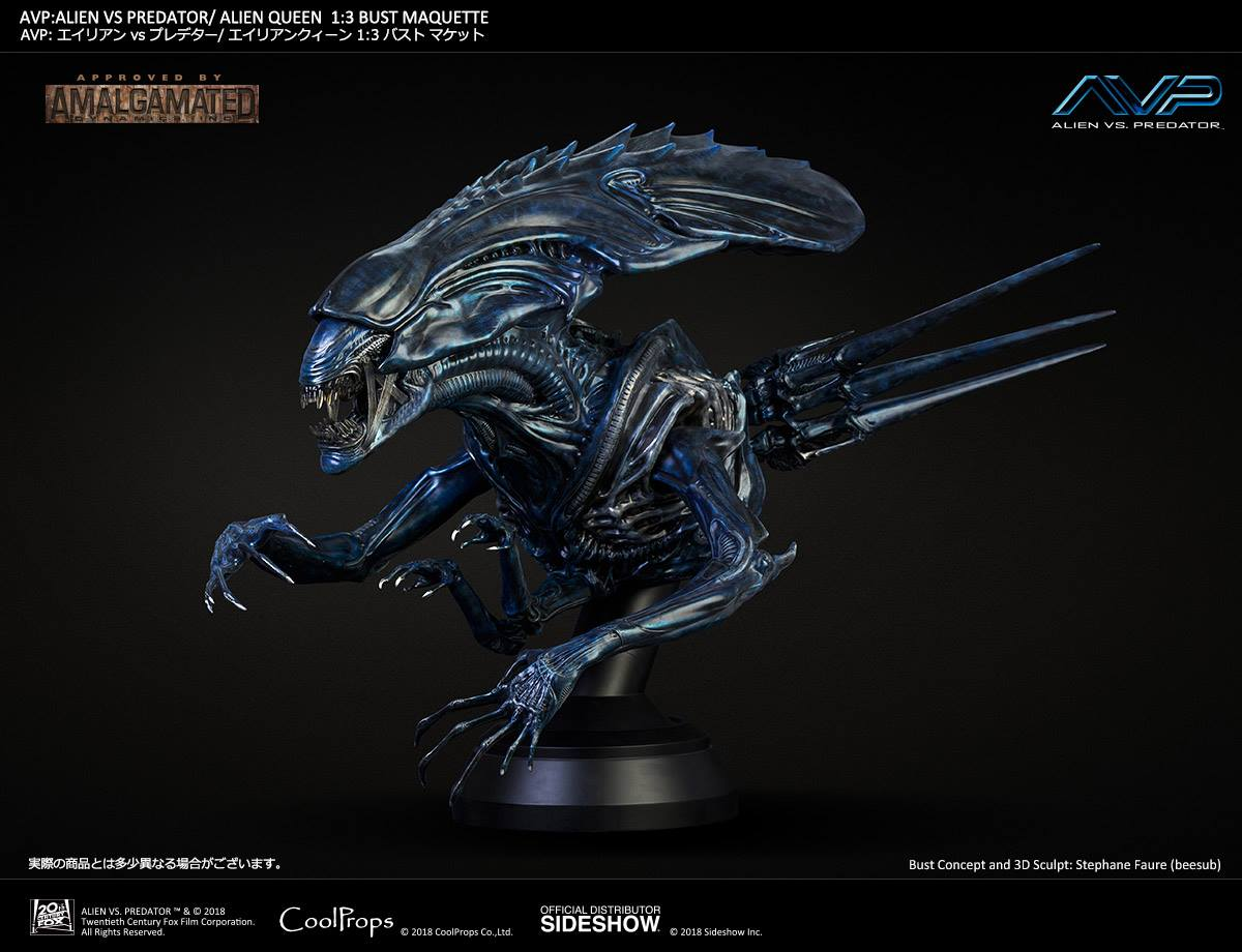 Cool Props AvP Alien Queen 1:3 Bust Maquette